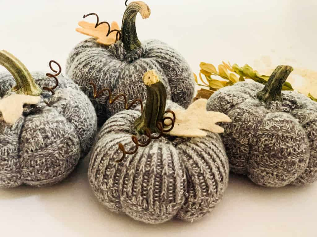 How to Make Fabric Pumpkins from Old Socks