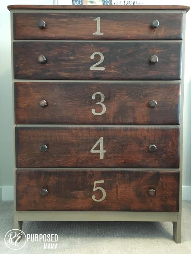 Diy Dresser Makeover For A Boy S Room A Well Purposed Woman