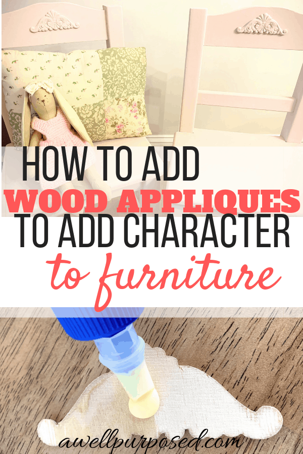 Applying Wood Appliques To Furniture, Wooden Appliques For Furniture