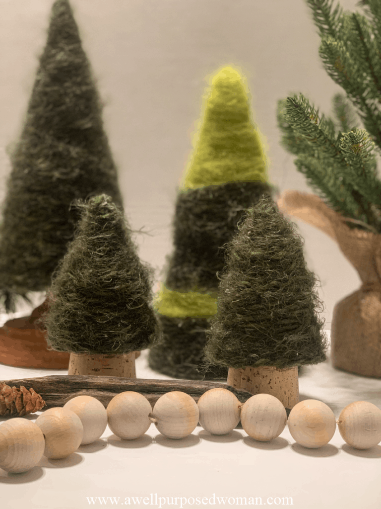 Simple Christmas Tree Craft With Template A Well Purposed Woman