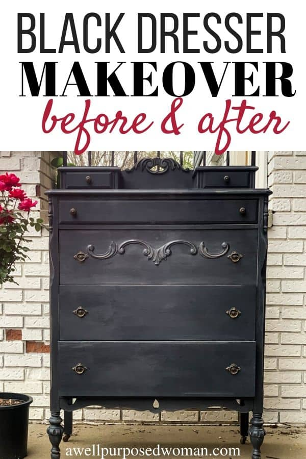 How To Paint Furniture With Black Chalk, How To Use Chalk Paint On Furniture
