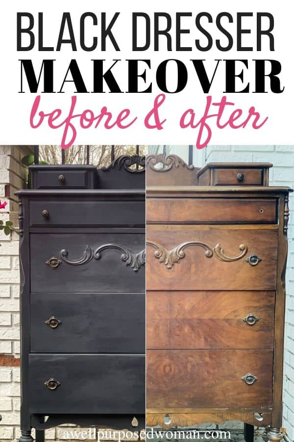 How To Paint Furniture With Black Chalk